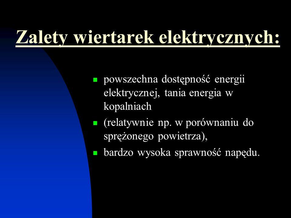 Zalety wiertarek elektrycznych: