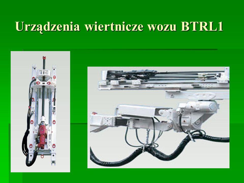 Urządzenia wiertnicze wozu BTRL1