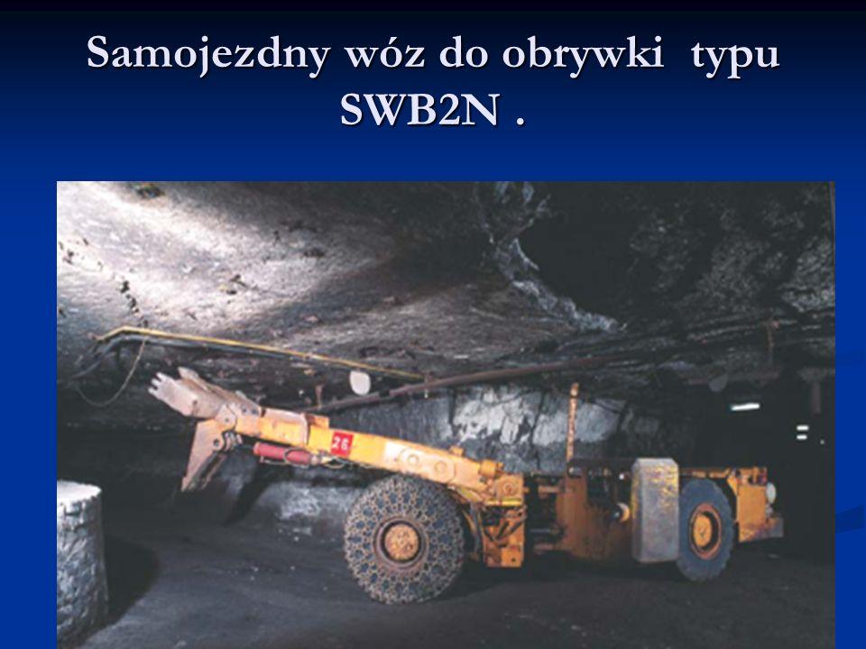 Samojezdny wóz do obrywki typu SWB2N .