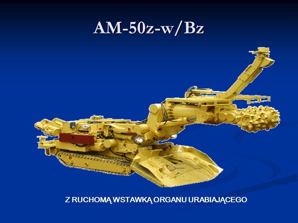 AM-50z-w/Bz Z RUCHOMĄ WSTAWKĄ ORGANU URABIAJĄCEGO