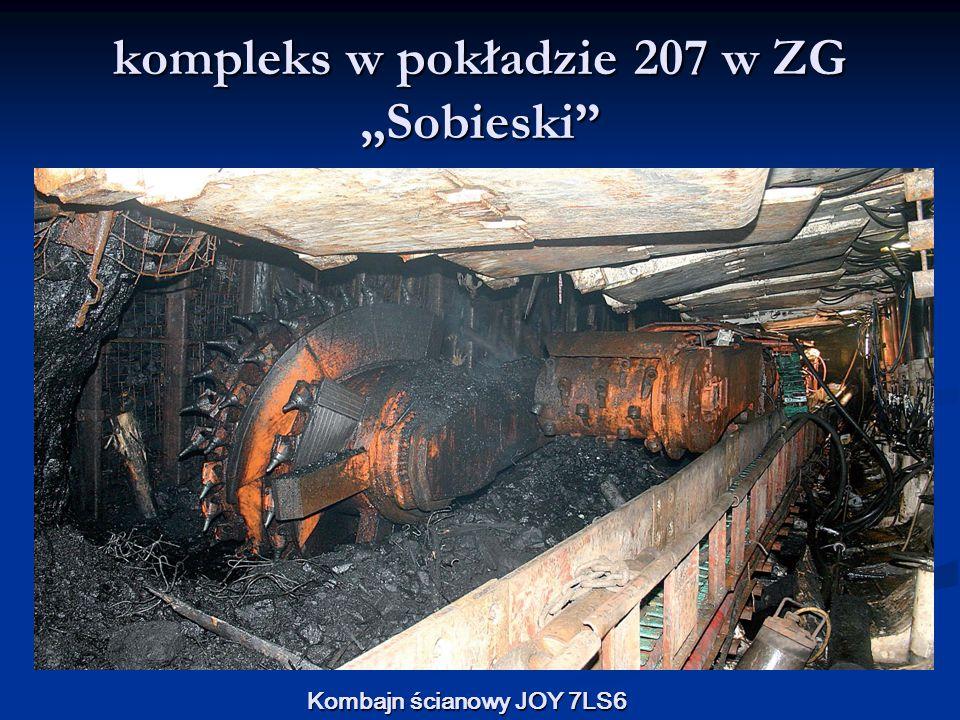 """kompleks w pokładzie 207 w ZG """"Sobieski"""