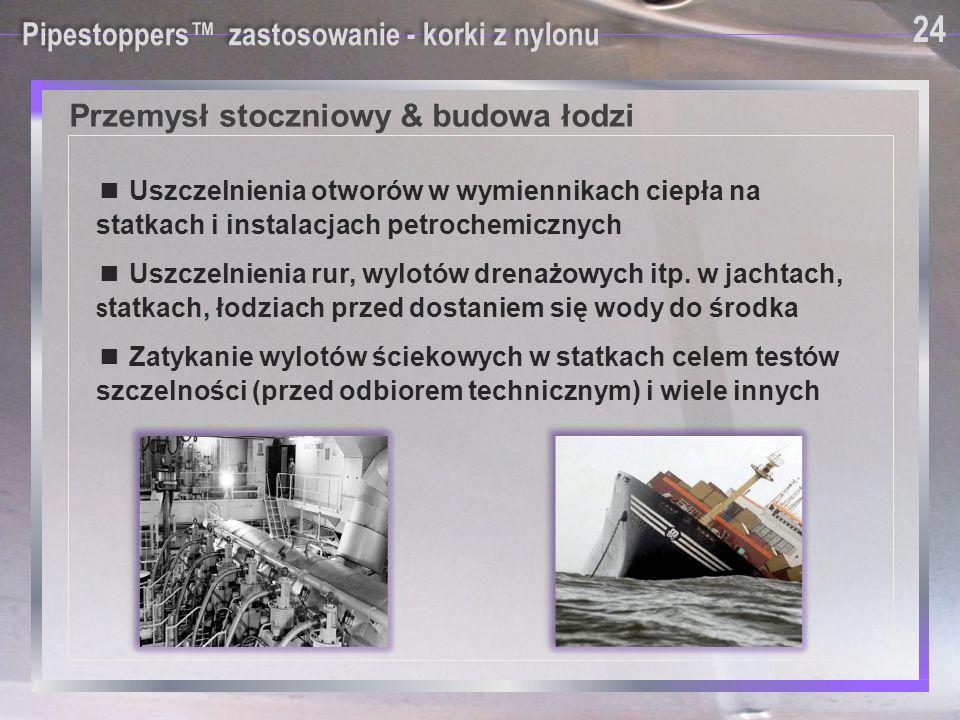 Przemysł stoczniowy & budowa łodzi