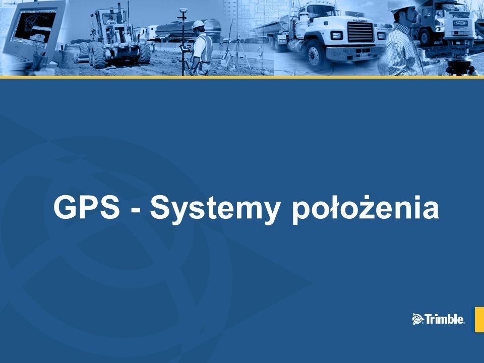 GPS - Systemy położenia