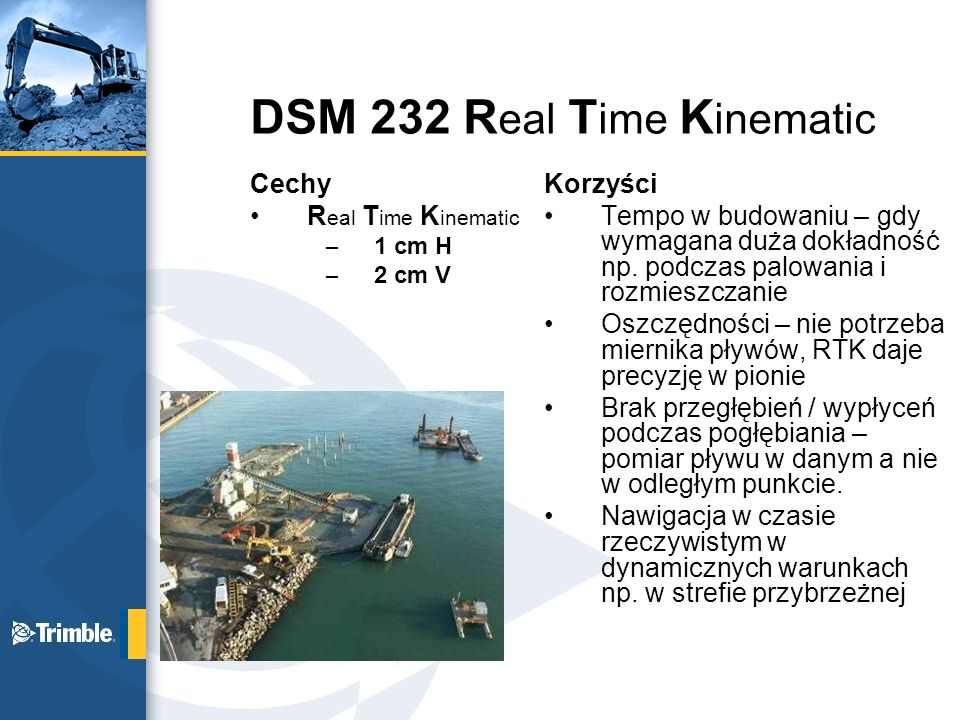 DSM 232 Real Time Kinematic