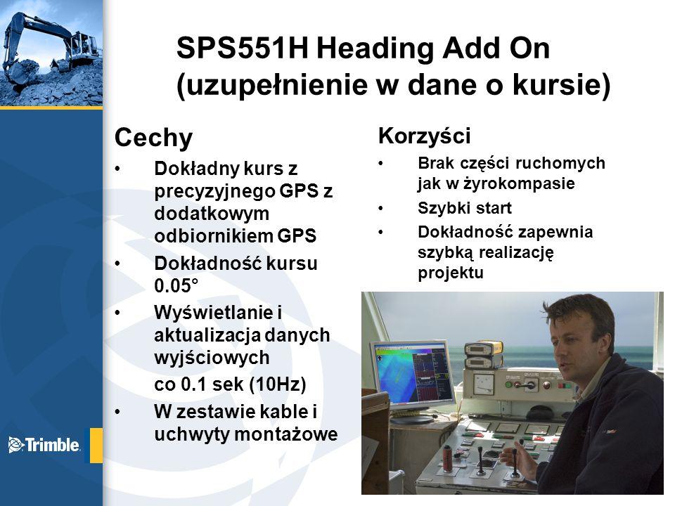 SPS551H Heading Add On (uzupełnienie w dane o kursie)