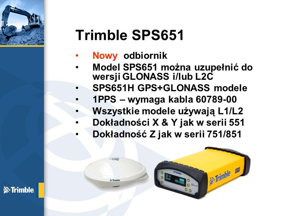 Trimble SPS651 Nowy odbiornik