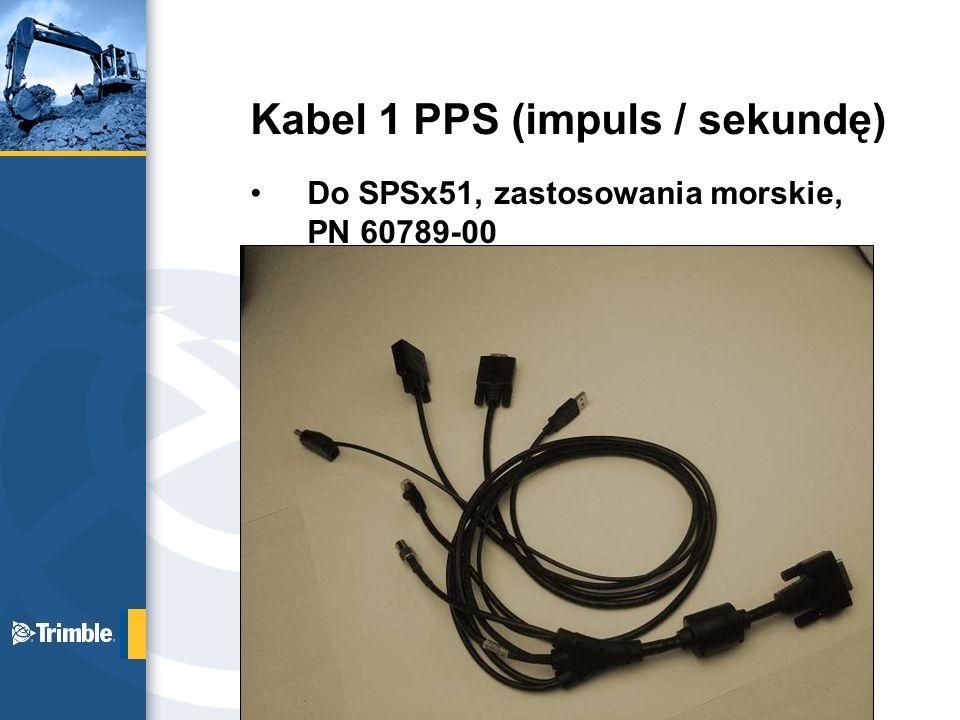 Kabel 1 PPS (impuls / sekundę)