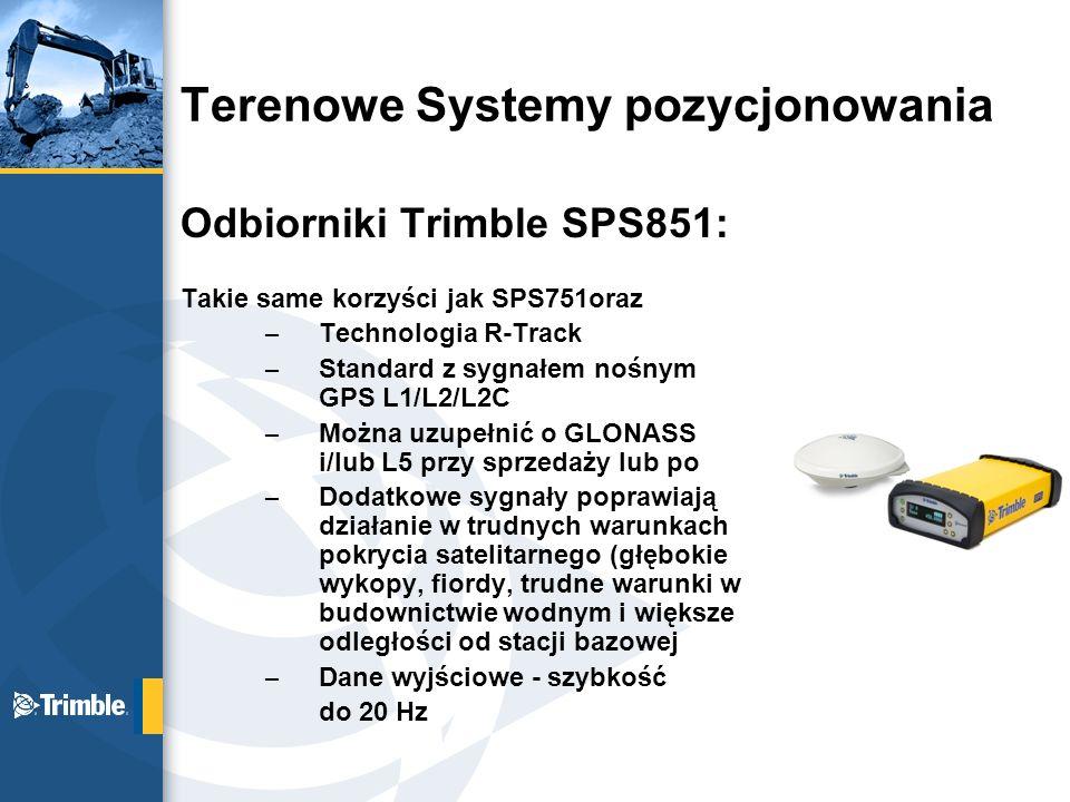 Terenowe Systemy pozycjonowania