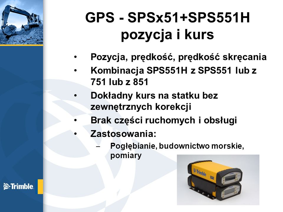 GPS - SPSx51+SPS551H pozycja i kurs