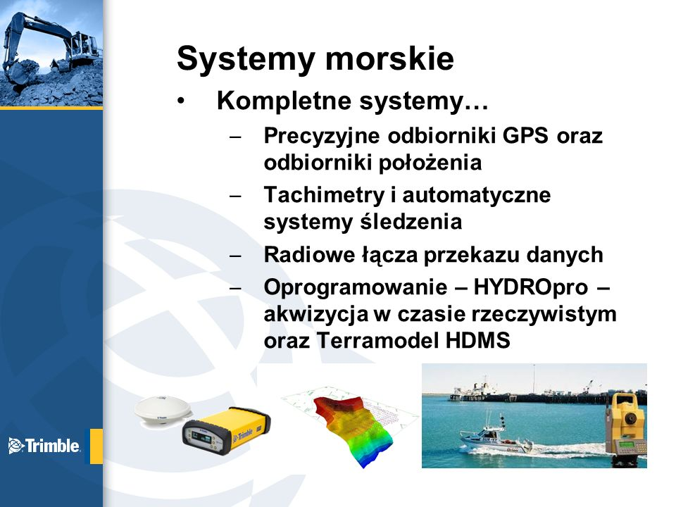 Systemy morskie Kompletne systemy…