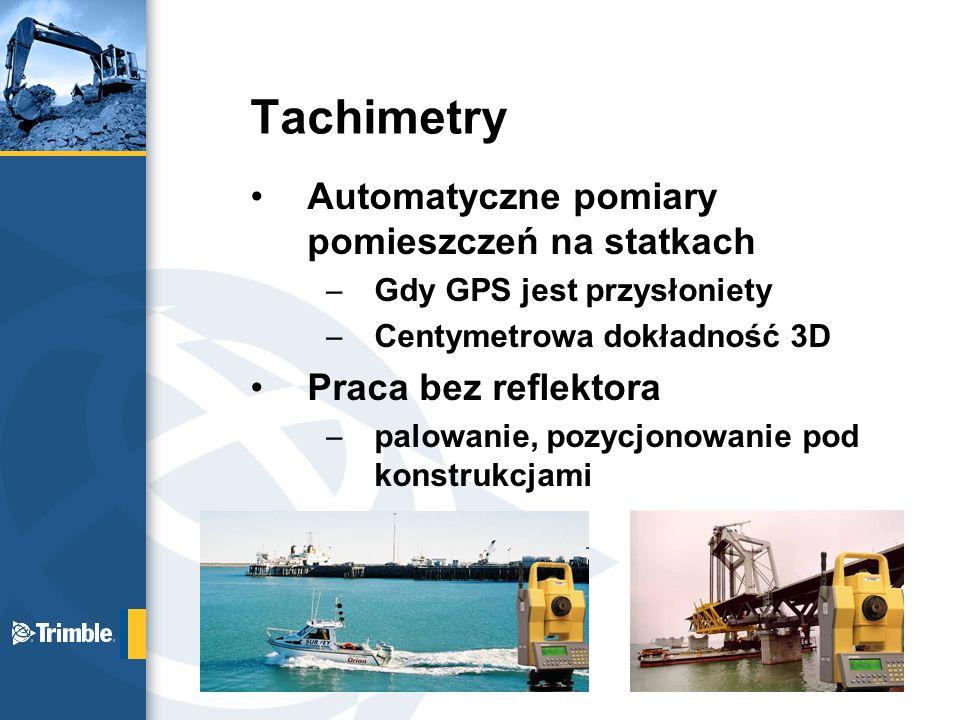 Tachimetry Automatyczne pomiary pomieszczeń na statkach