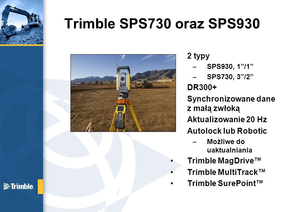 Trimble SPS730 oraz SPS930 2 typy DR300+