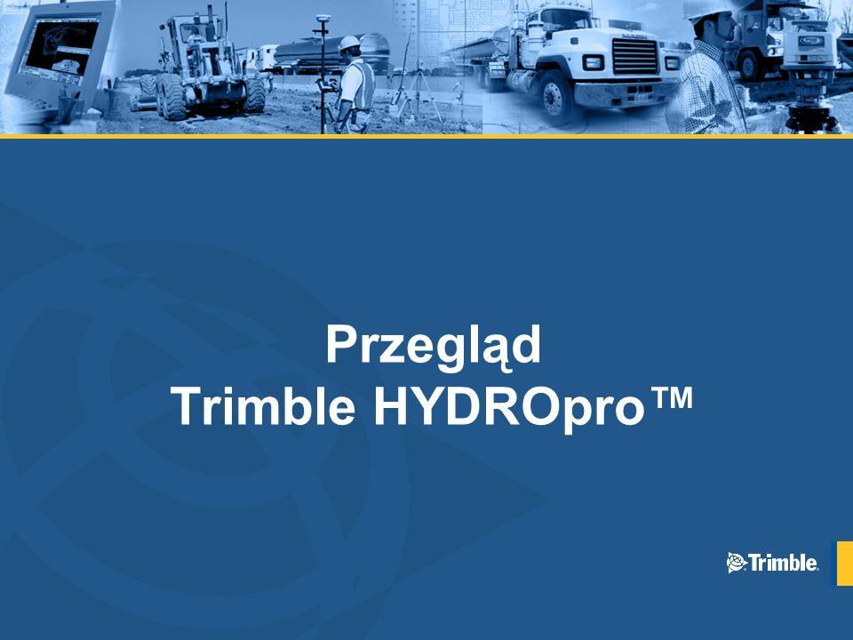 Przegląd Trimble HYDROpro™