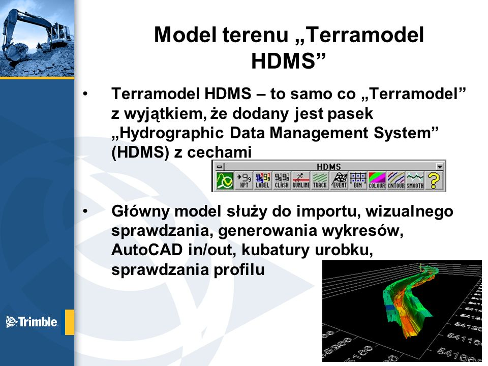 "Model terenu ""Terramodel HDMS"