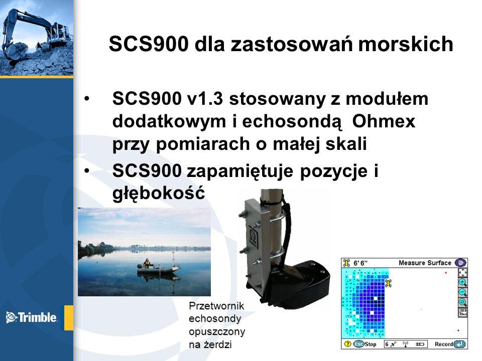 SCS900 dla zastosowań morskich