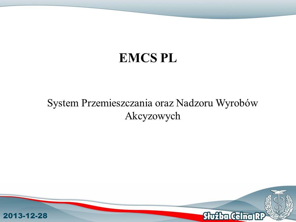 System Przemieszczania oraz Nadzoru Wyrobów Akcyzowych