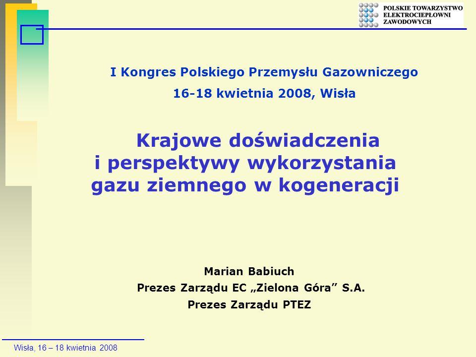 I Kongres Polskiego Przemysłu Gazowniczego