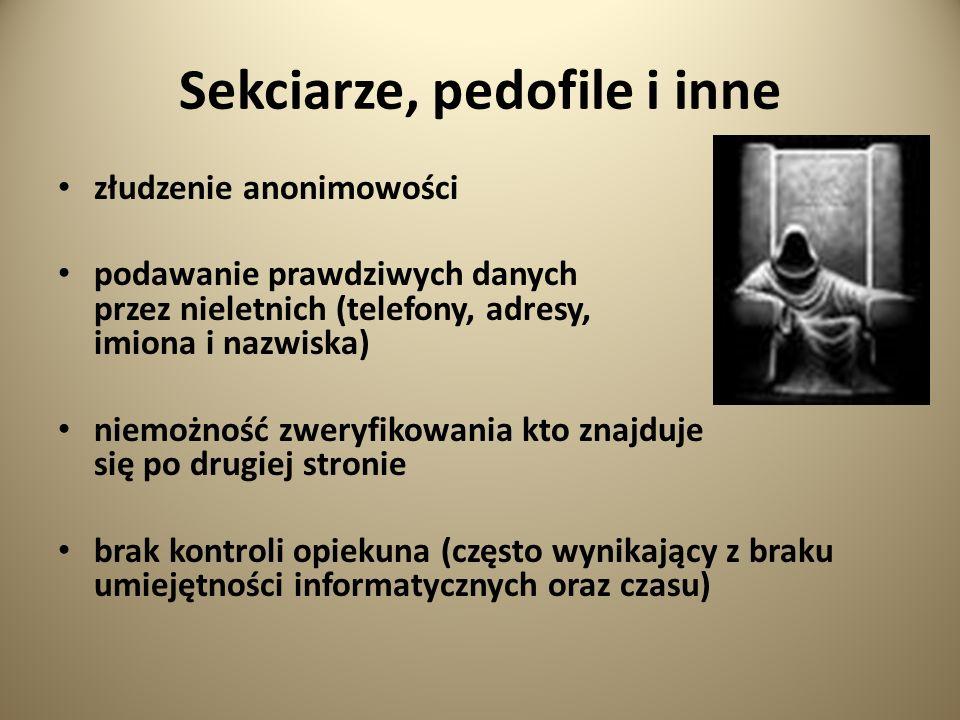 Sekciarze, pedofile i inne