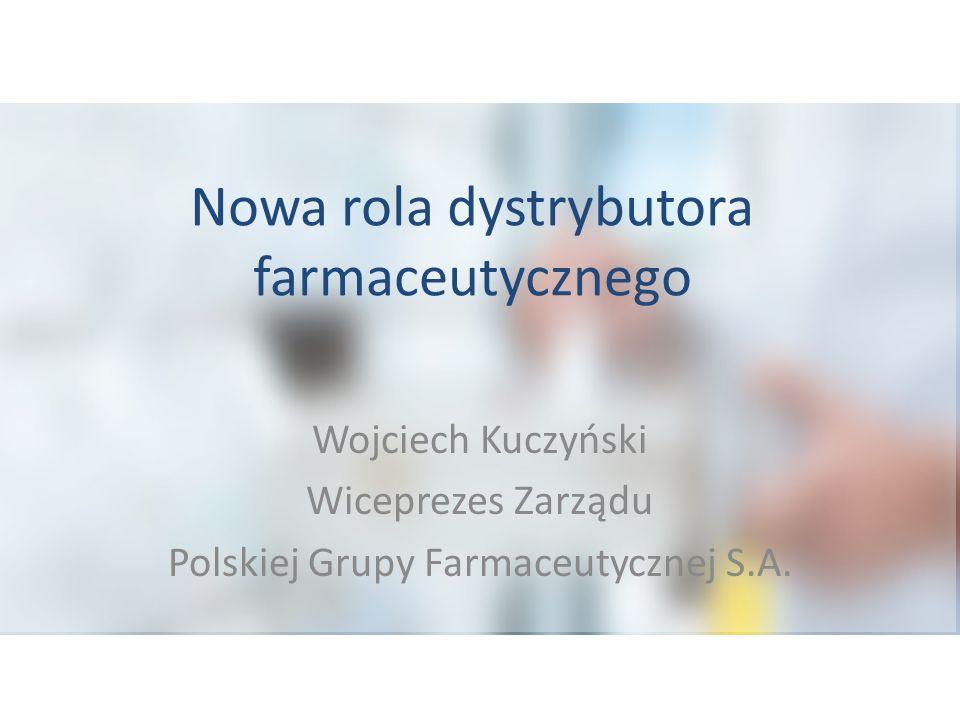 Nowa rola dystrybutora farmaceutycznego