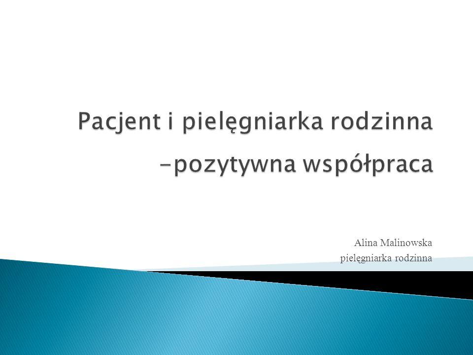 Pacjent i pielęgniarka rodzinna -pozytywna współpraca