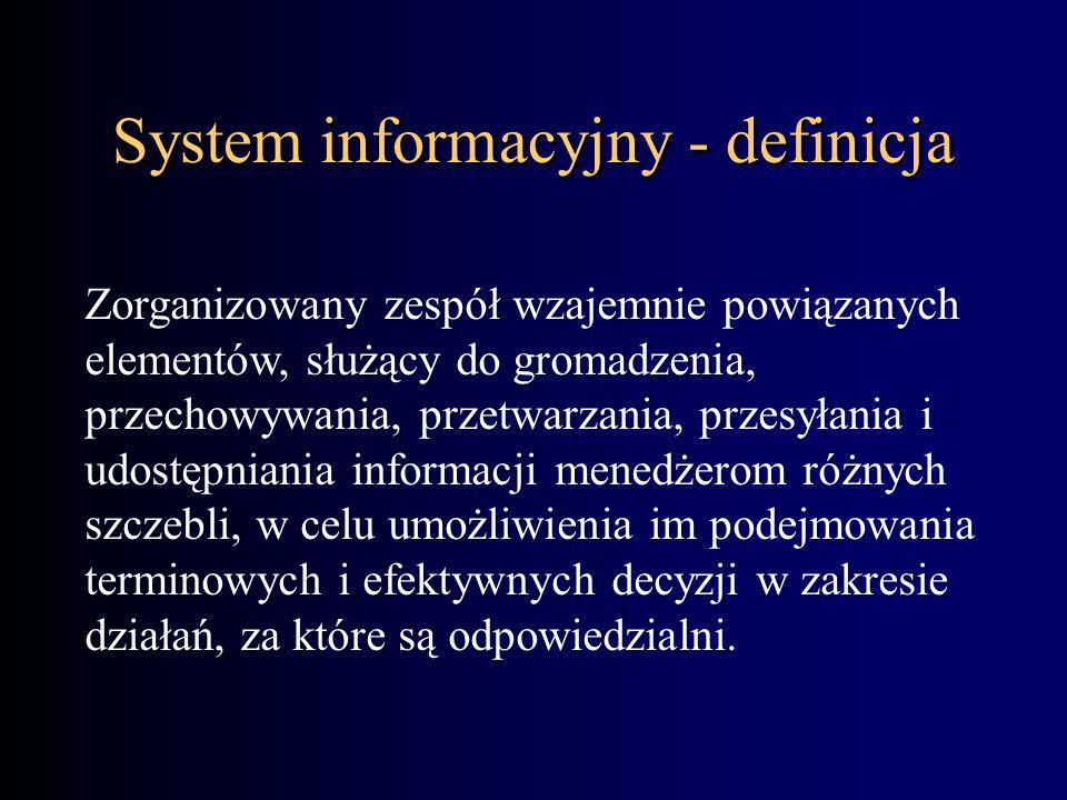 System informacyjny - definicja