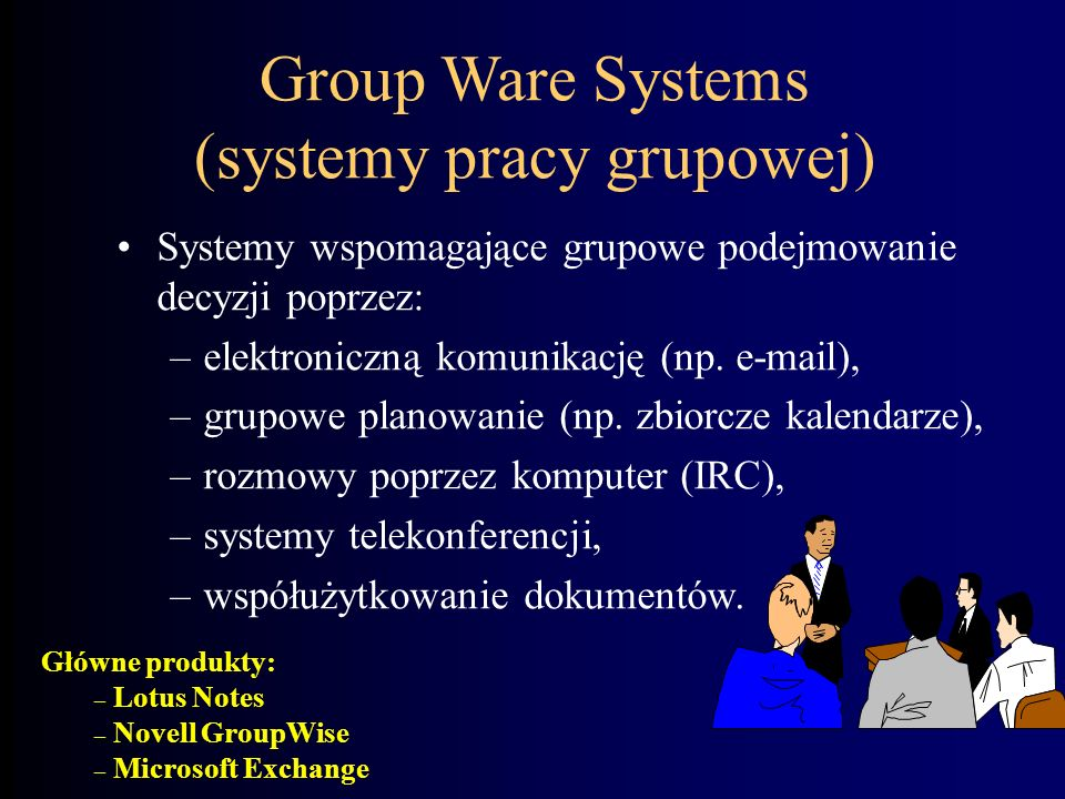 Group Ware Systems (systemy pracy grupowej)