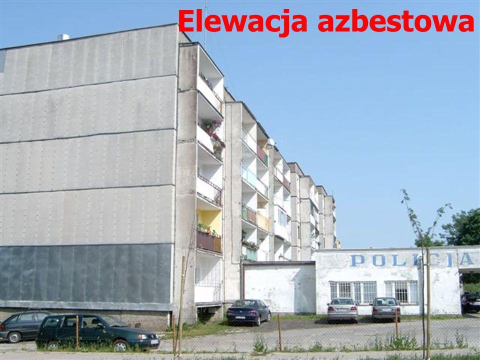 Elewacja azbestowa