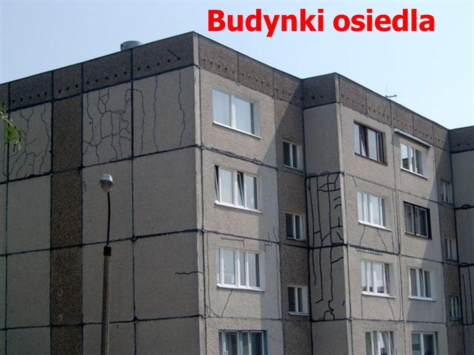 Budynki osiedla