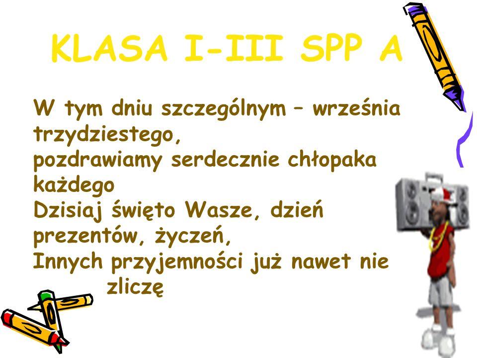 KLASA I-III SPP A