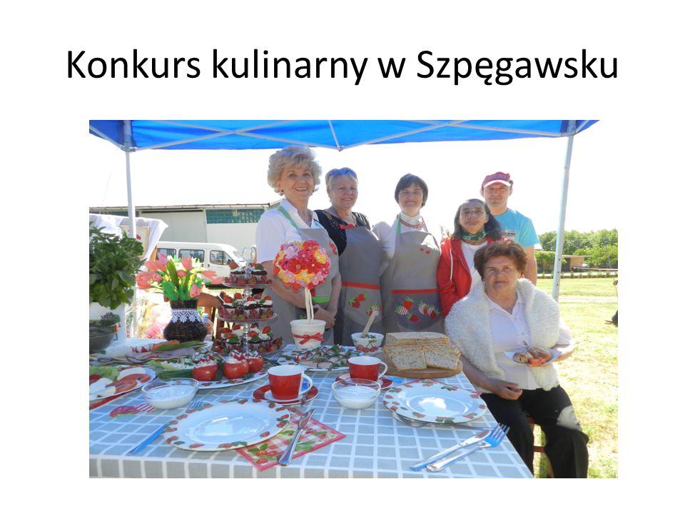 Konkurs kulinarny w Szpęgawsku