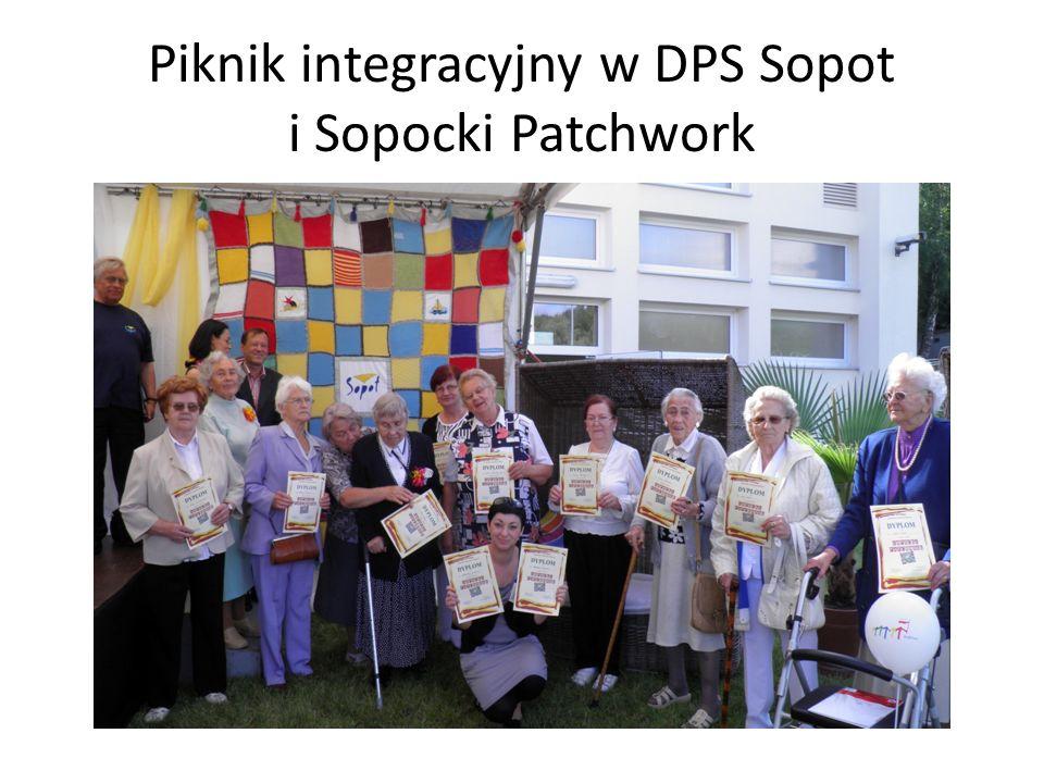 Piknik integracyjny w DPS Sopot i Sopocki Patchwork
