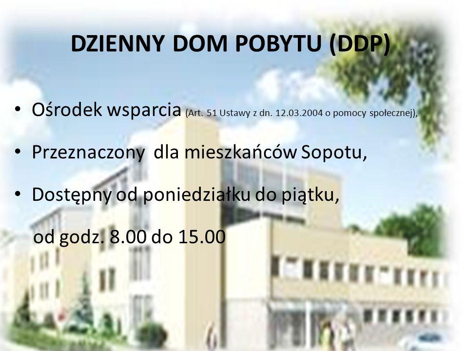DZIENNY DOM POBYTU (DDP)