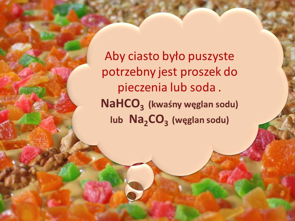 NaHCO3 (kwaśny węglan sodu)