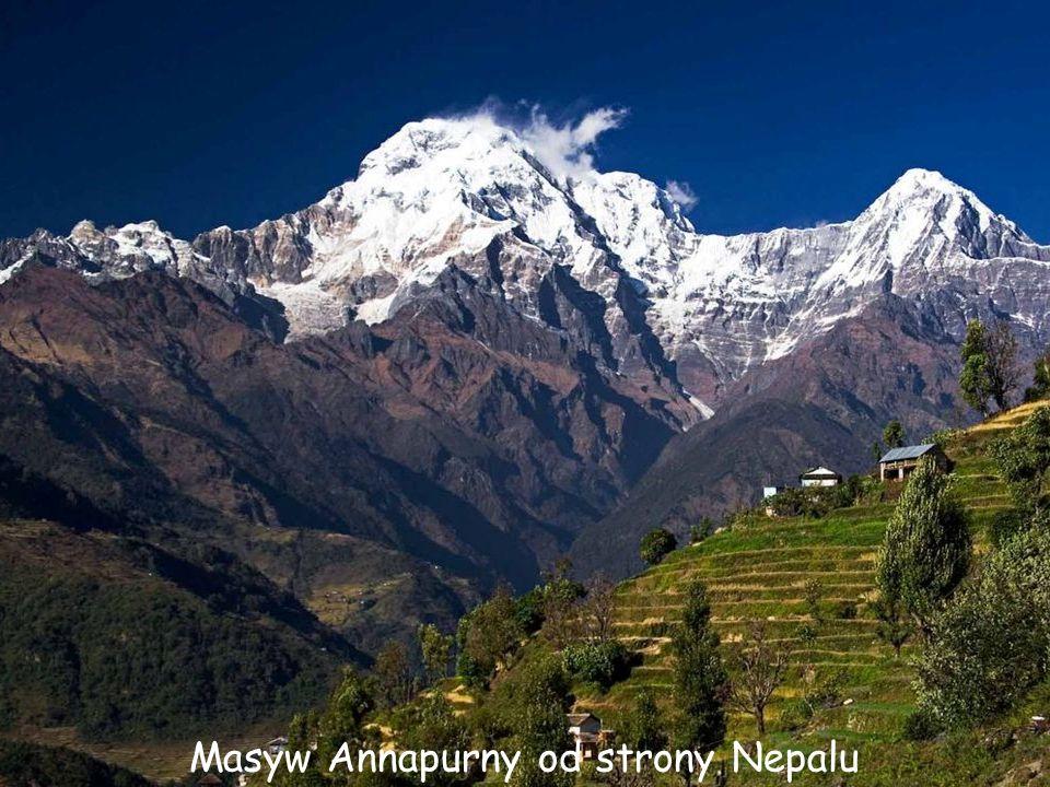 Masyw Annapurny od strony Nepalu