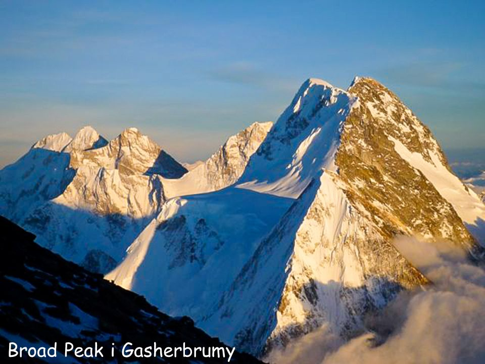Broad Peak i Gasherbrumy
