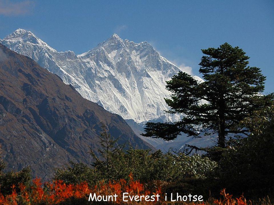 Mount Everest i Lhotse
