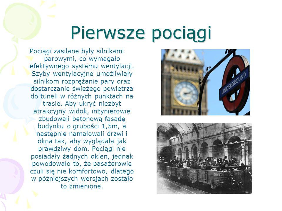 Pierwsze pociągi