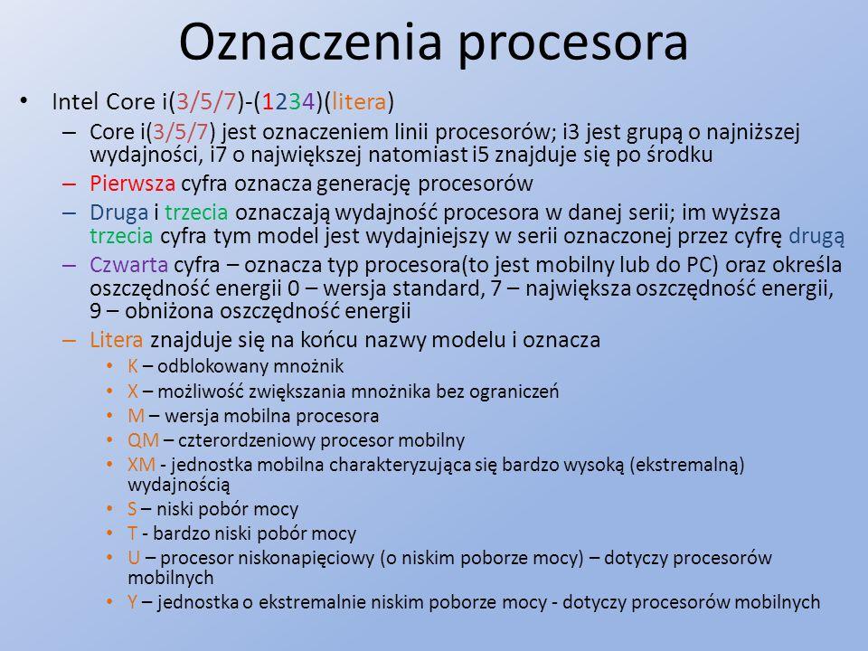 Oznaczenia procesora Intel Core i(3/5/7)-(1234)(litera)