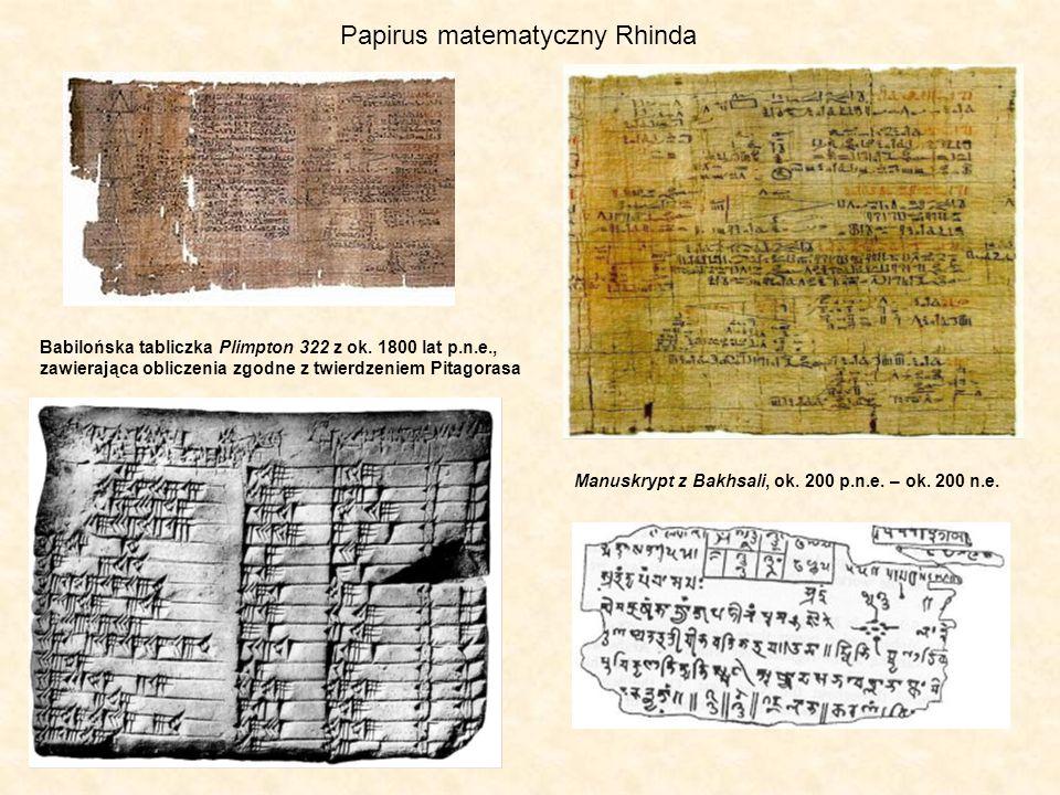 Papirus matematyczny Rhinda