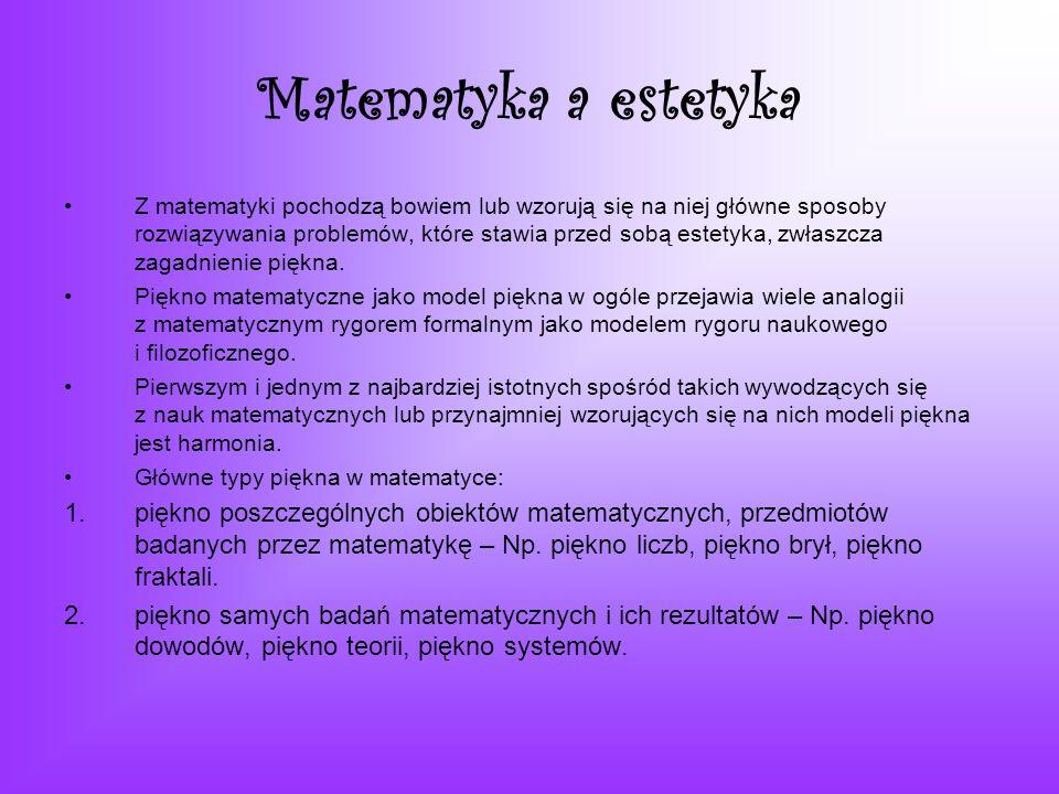 Matematyka a estetyka