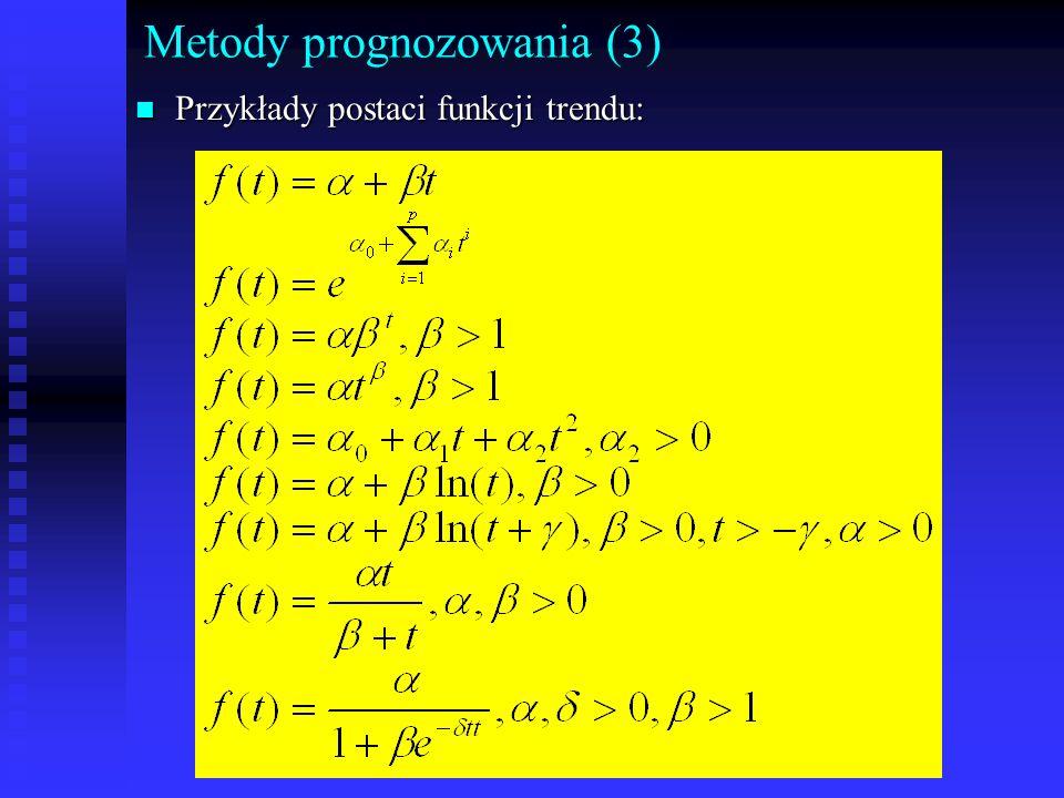 Metody prognozowania (3)