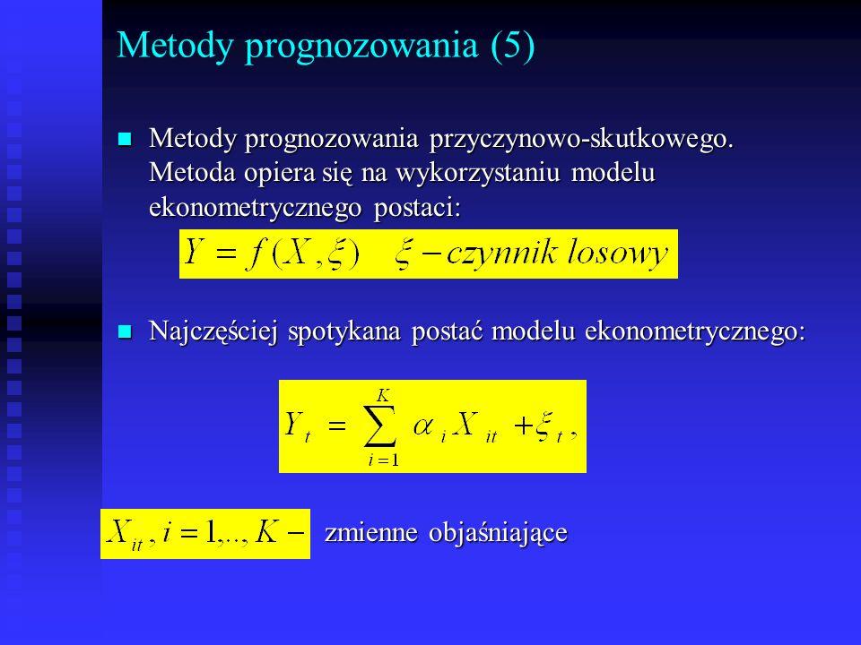 Metody prognozowania (5)