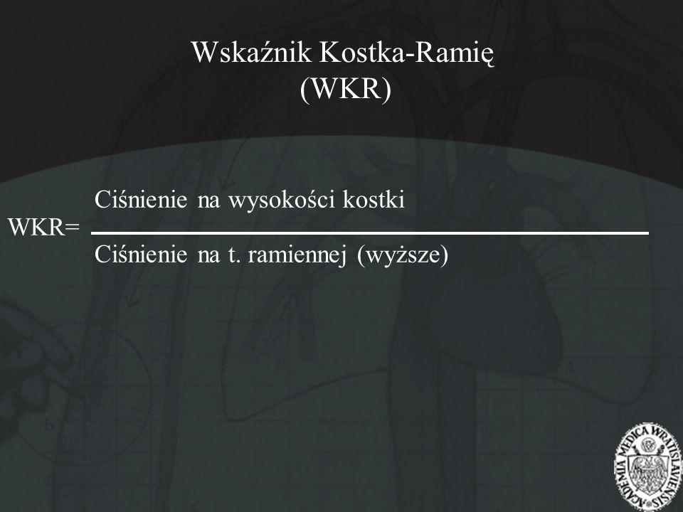 Wskaźnik Kostka-Ramię (WKR)