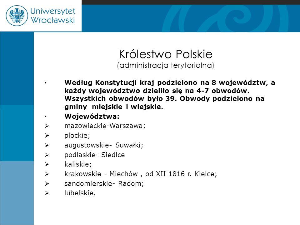 Królestwo Polskie (administracja terytorialna)