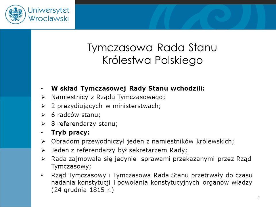 Tymczasowa Rada Stanu Królestwa Polskiego