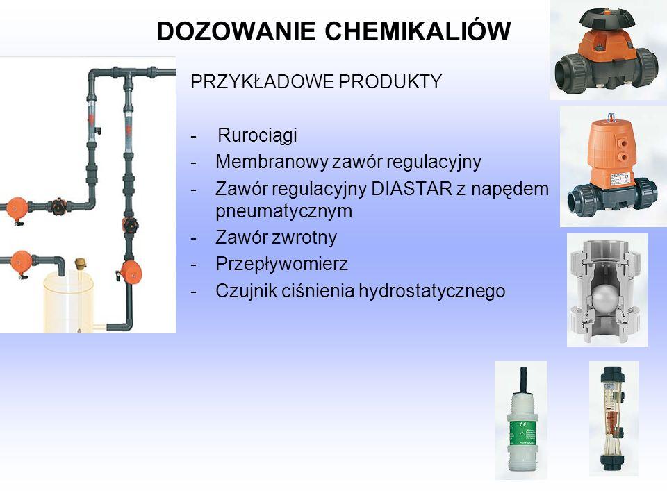 DOZOWANIE CHEMIKALIÓW