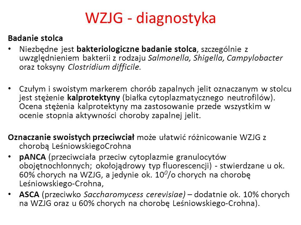 WZJG - diagnostyka Badanie stolca