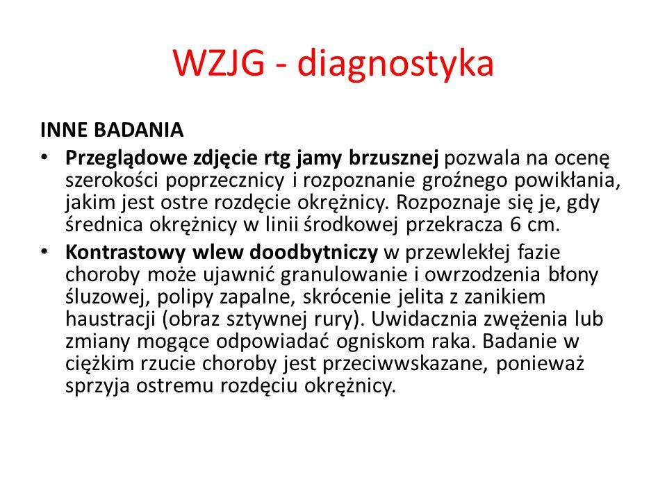 WZJG - diagnostyka INNE BADANIA