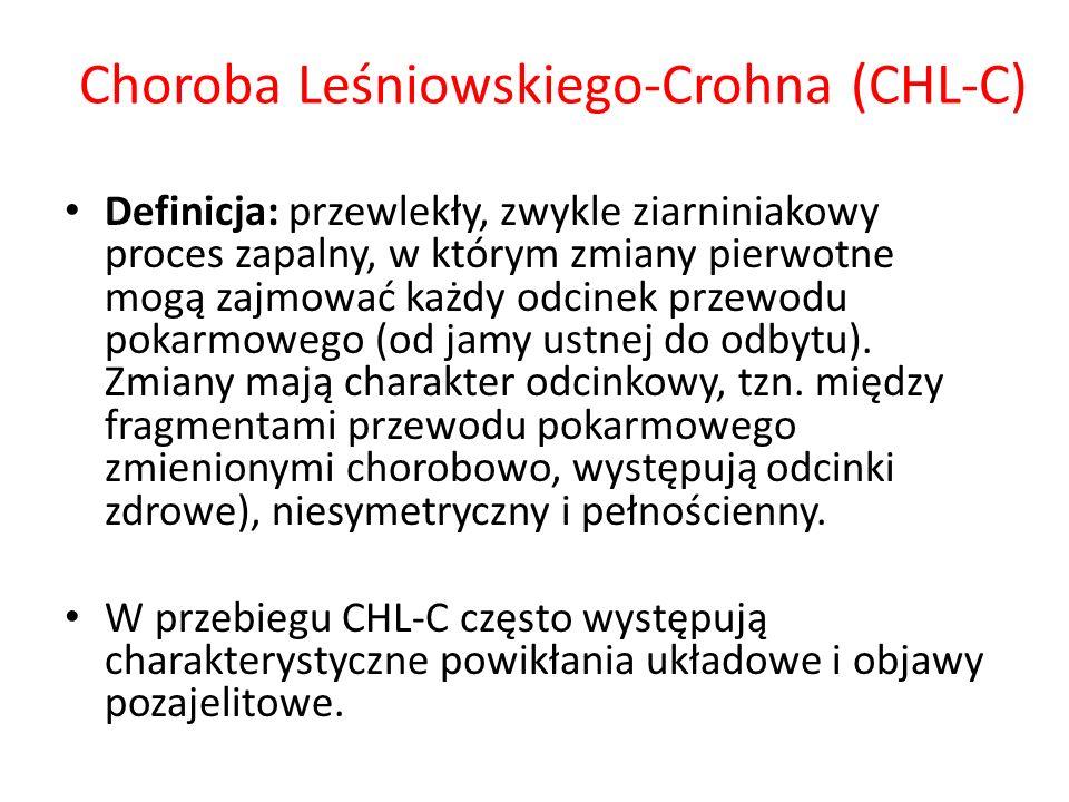 Choroba Leśniowskiego-Crohna (CHL-C)