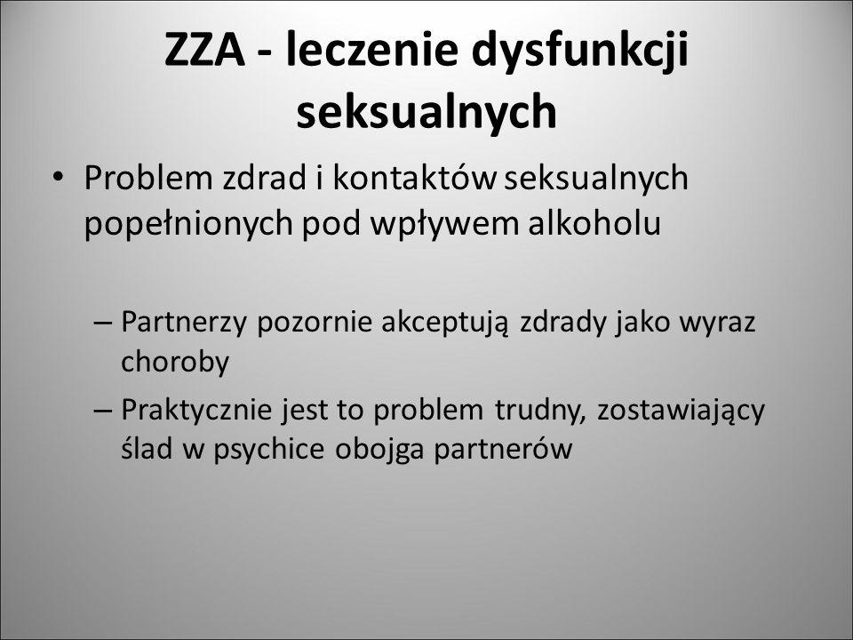 ZZA - leczenie dysfunkcji seksualnych
